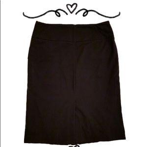 Worthington Navy Pencil Skirt